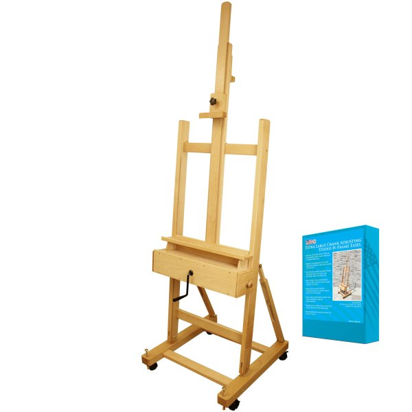 Art Supply Extra Large Wood Studio -frame Artist Easel