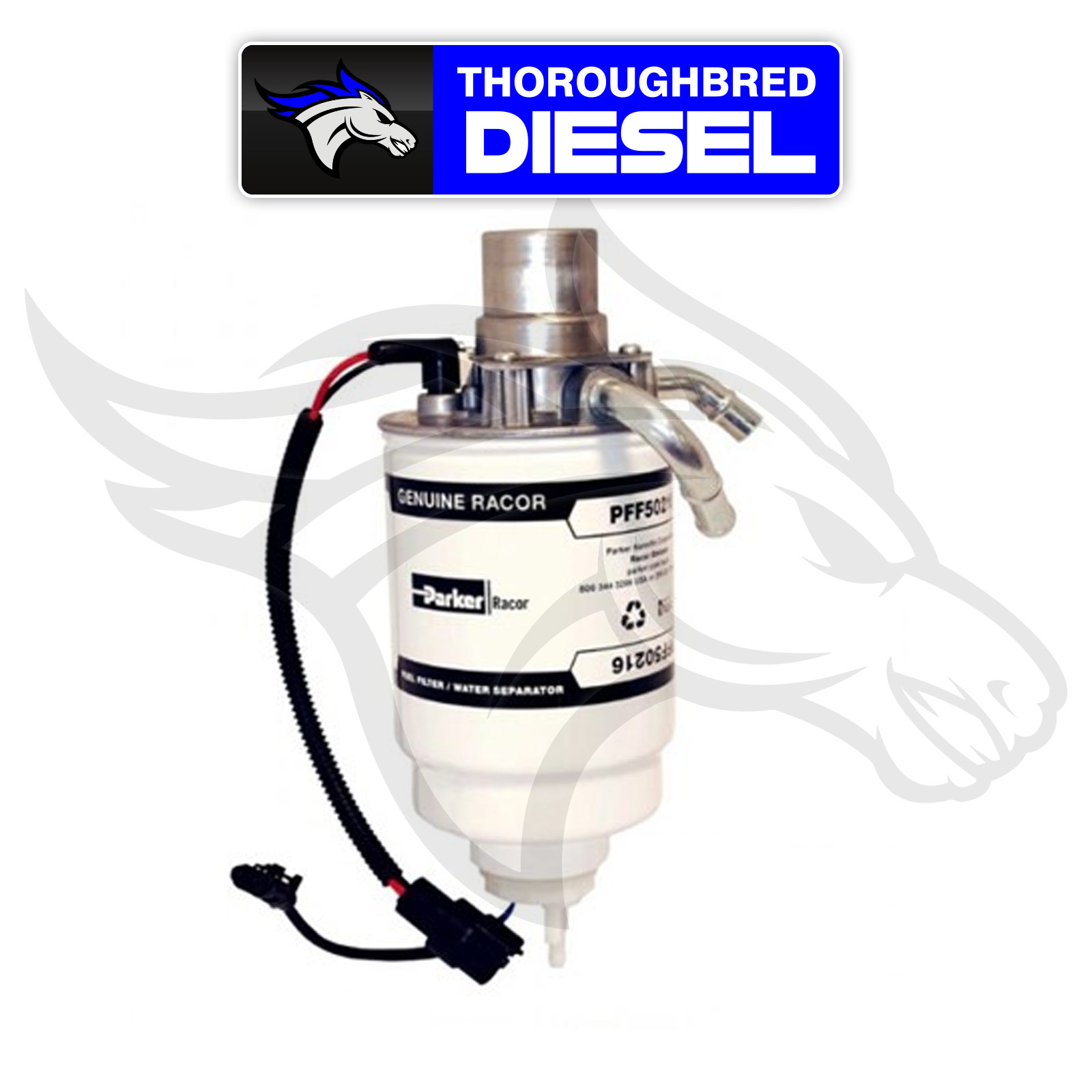 hight resolution of details about racor fuel filter head assembly 2004 5 2010 duramax lly lbz lmm pff4245r2 02
