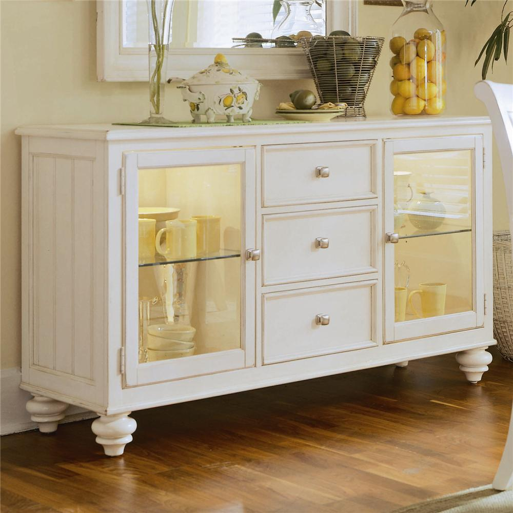 China Buffetcredenza With 2 Glass Doors By American Drew