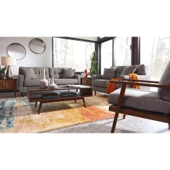 Ashley Furniture Modern Sofa Sofas Chaise Longue 4 Lugares Mid Century By Wolf And Gardiner