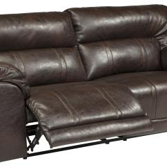 Ashley Bonded Leather Sectional Sofa Cheap Sofas Uk Dfs 3-piece Power Reclining By Benchcraft | Wolf And ...