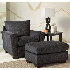 chair with ottoman cheap table and covers for parties shop sets wolf gardiner furniture rounded track arms
