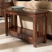 Three Drawer Sofa Table by Broyhill Furniture | Wolf and ...