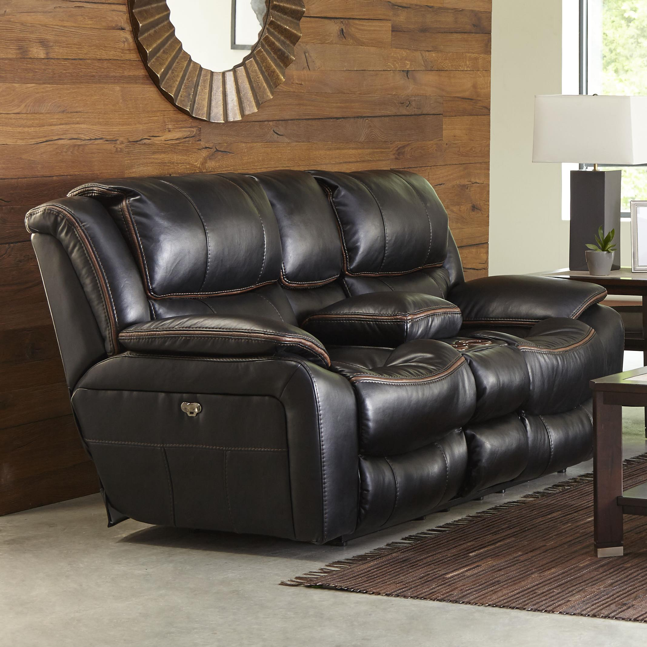 Power Reclining Loveseat With Usb Port Cup Holders And
