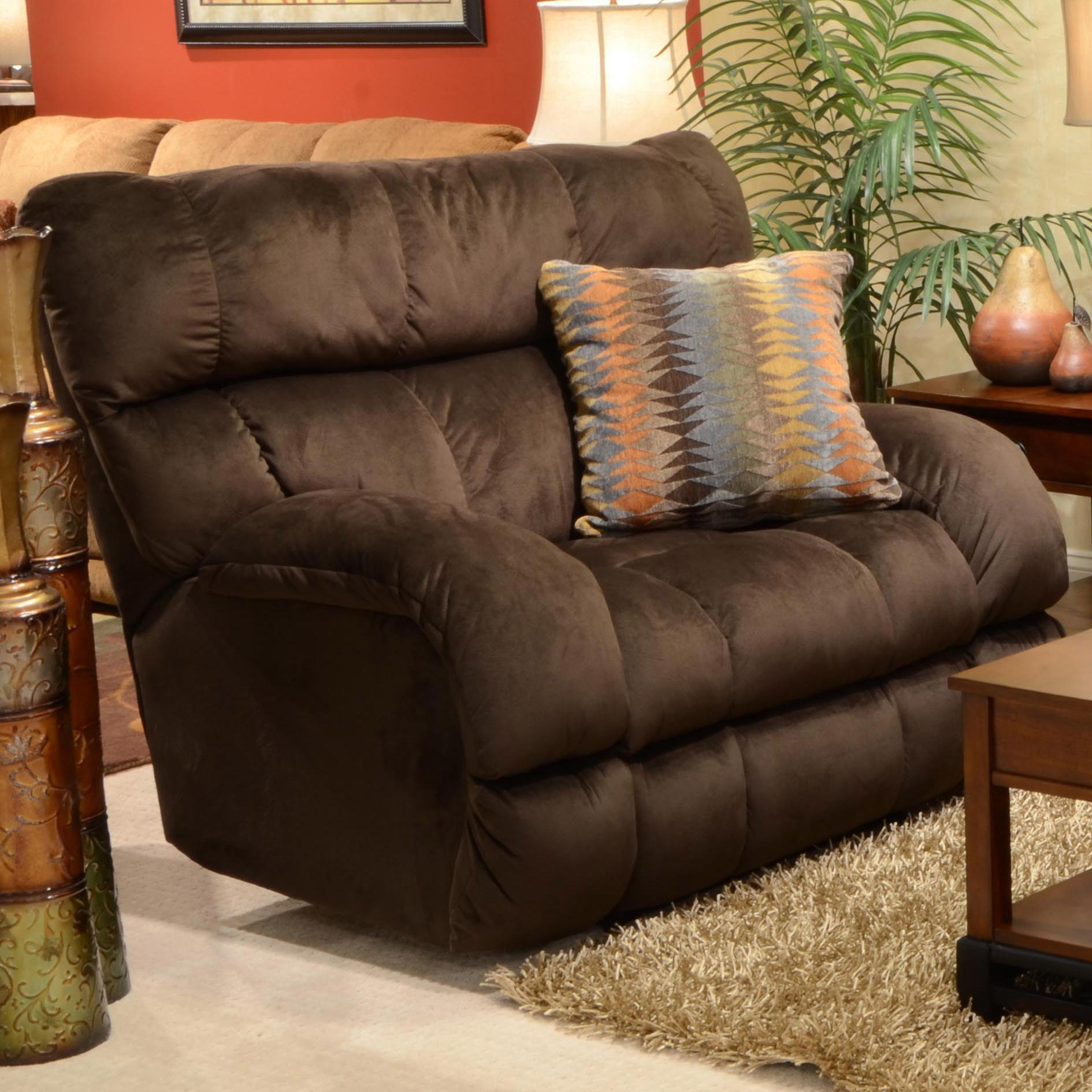 lay flat recliner chairs burnt orange chair sashes with extra wide seat by catnapper wolf and