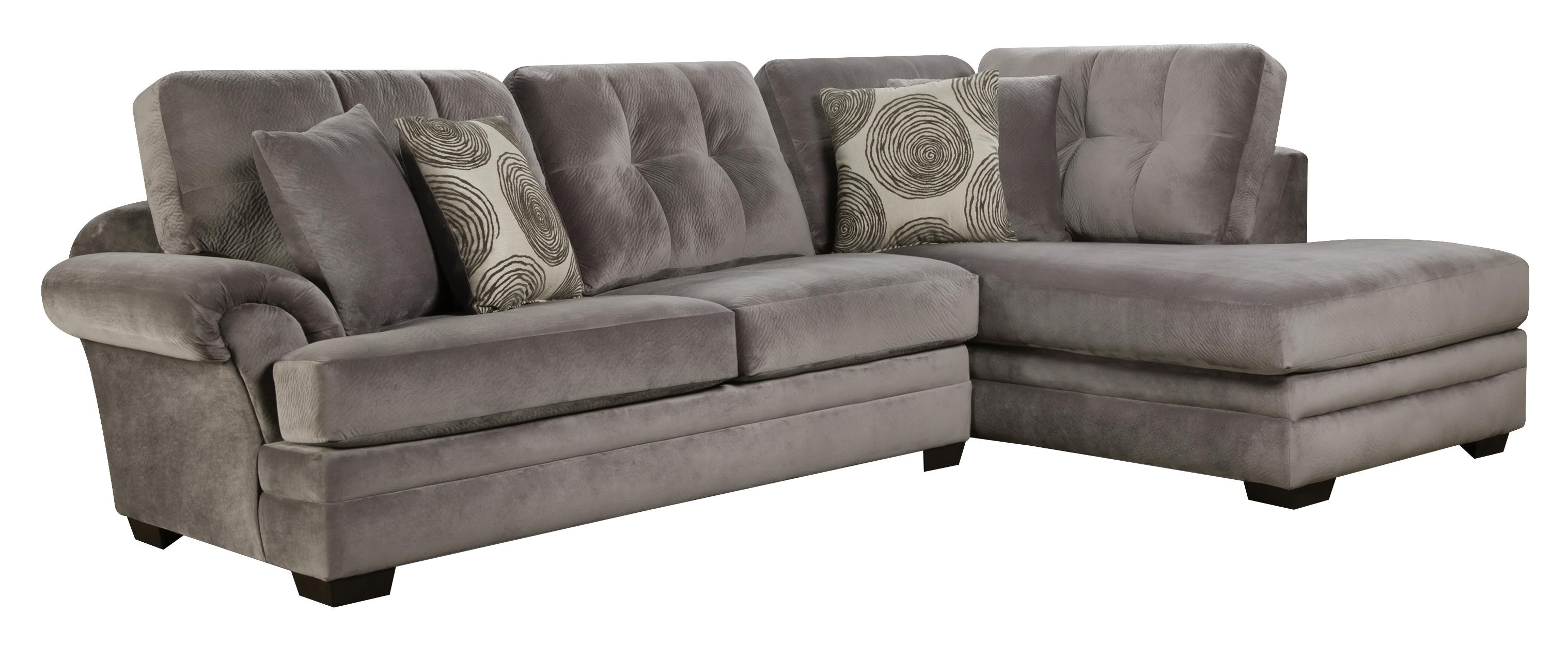Sectional Sofa with Chaise on right side by Corinthian