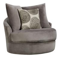 Swivel Chair with Contemporary Style by Corinthian | Wolf ...