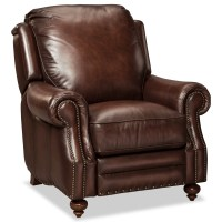 Craftmaster Traditional Leather Recliner by Craftmaster ...