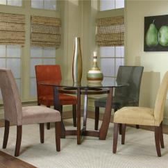 Suede Dining Table Chairs Herman Miller Equa Chair Round And Micro By Cramco Inc Wolf