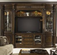 Traditional Entertainment Center Wall Unit by Fine ...
