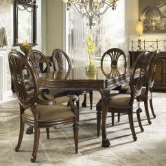Oval Back Dining Room Chairs Gravity Lowes Side Chair With Coffee Colored Upholstery By Fine