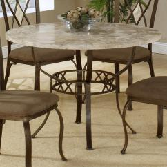 Stone Top Kitchen Table Black Trash Bags Round Dining With Fossil By Hillsdale Wolf And Gardiner Furniture