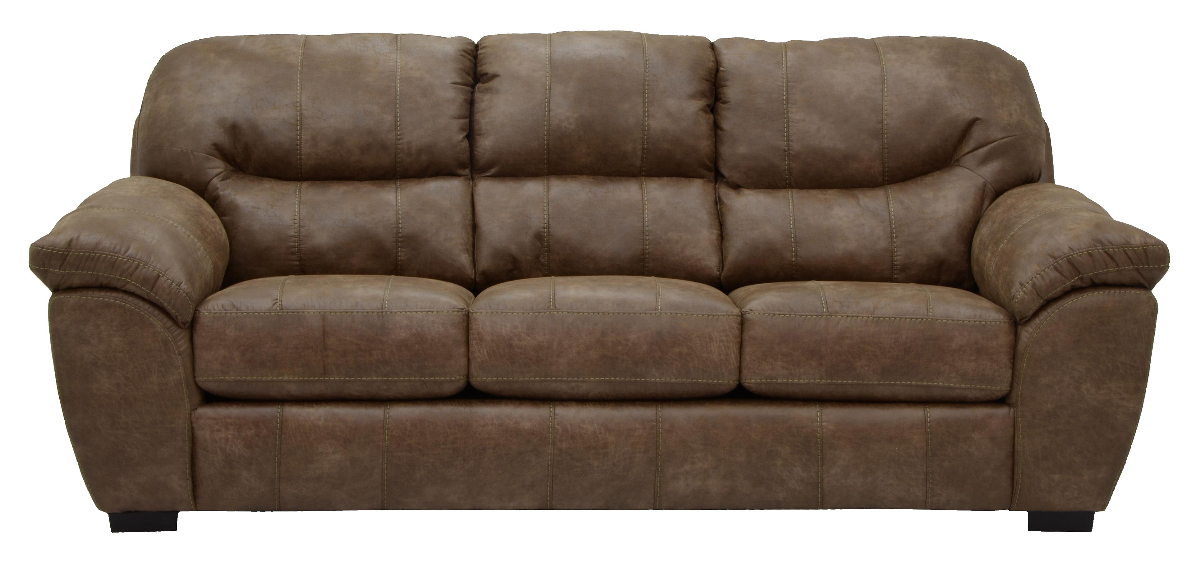 Faux Leather Sofa for Living Rooms and Family Rooms by Jackson Furniture  Wolf Furniture