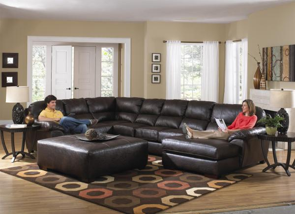 Extra Large Seven Seat Sectional Jackson Furniture