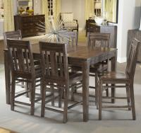Seven Piece Casual Counter Height Dining Set by Kincaid ...