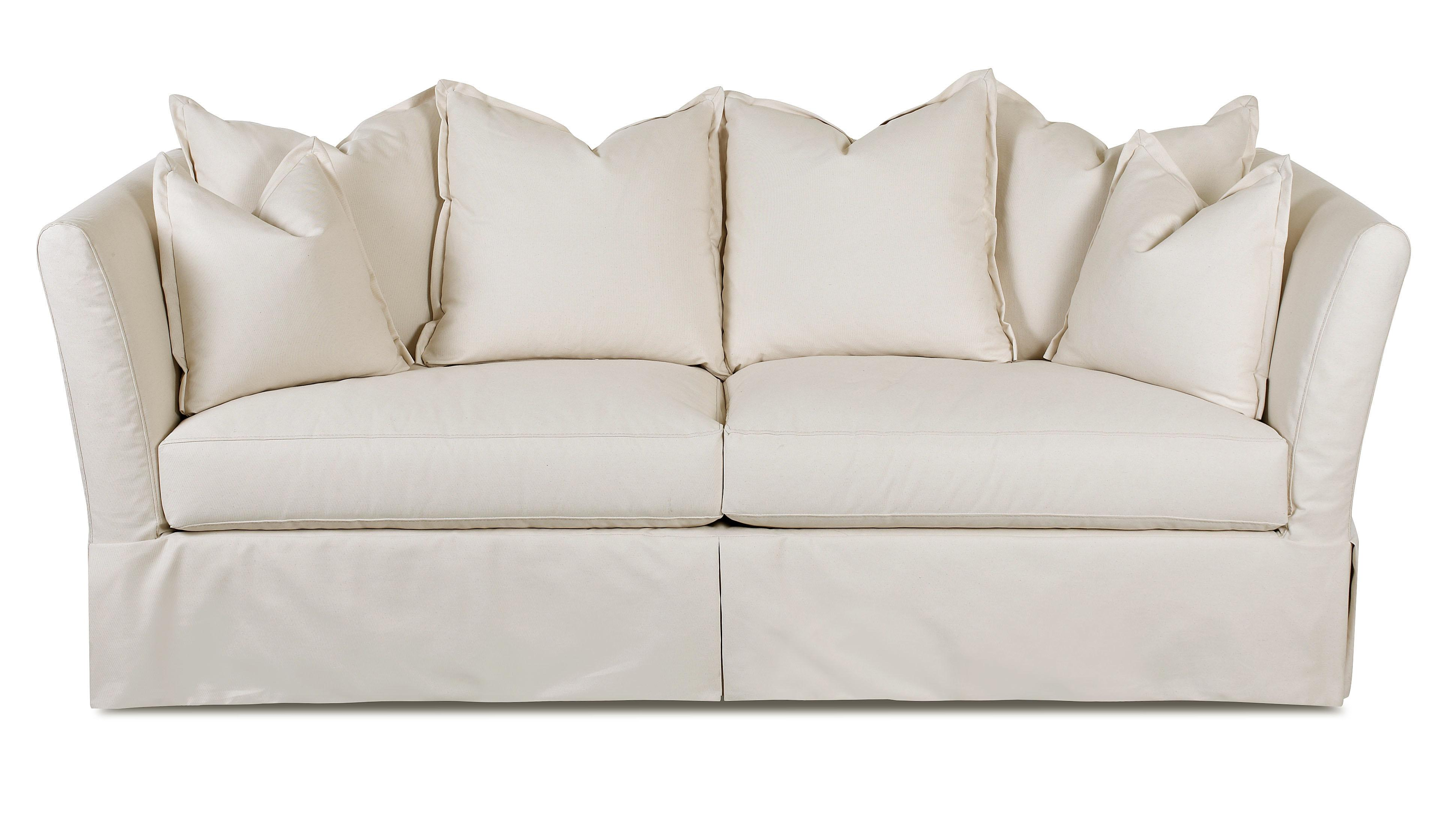 sofa store towson md modern set design ideas traditional with slipcover by klaussner | wolf and ...