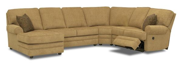Reclining Sectional With Left-side Chaise Klaussner
