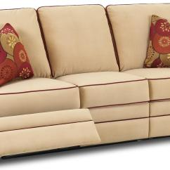 Sofa Store Towson Md Cheap Microfiber Sectional With Chaise Transitional Dual-reclining By Klaussner | Wolf And ...