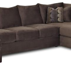 Right Arm Facing Sofa Left Chaise Two Sofas Into Sectional L-shaped With By Klaussner ...