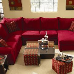 Left Arm Sofa Sectional Big Lots Covers Spacious With Chaise Lounge By Klaussner | Wolf ...