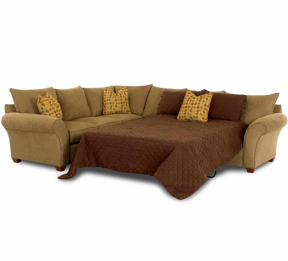 Sofa Sleeper Spacious Sectional by Klaussner  Wolf and