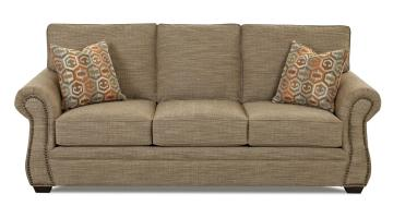 Traditional Enso Memory Foam Queen Sleeper Sofa with ...