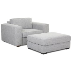 Big Chair With Ottoman Helicopter Accessories Contemporary Down Blend Cushions By