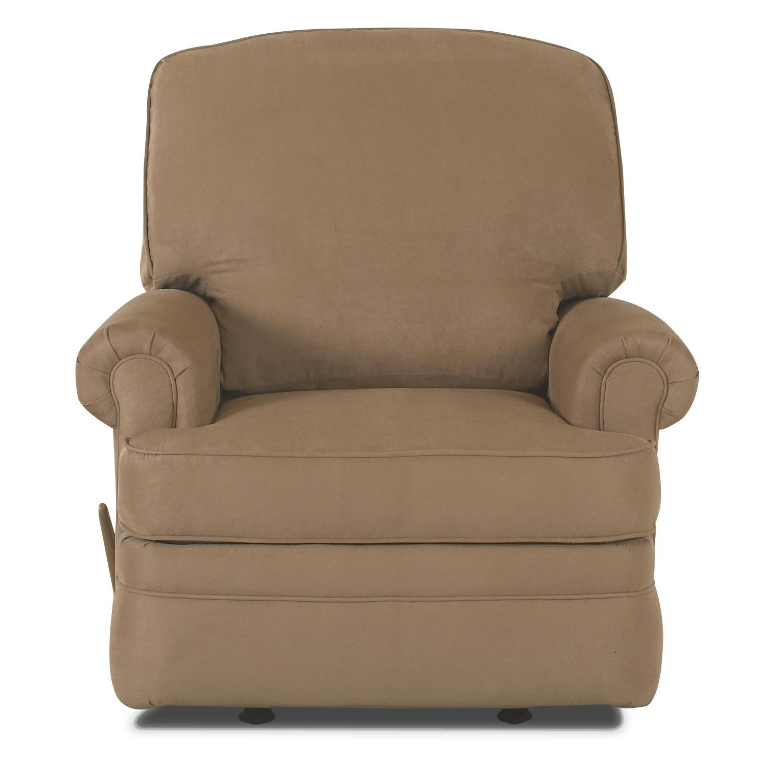 Stanley Rocking Reclining Chair by Klaussner  Wolf and