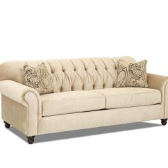Sofa Store Towson Md Erska Review Traditional With Tufted Back By Klaussner | Wolf And ...