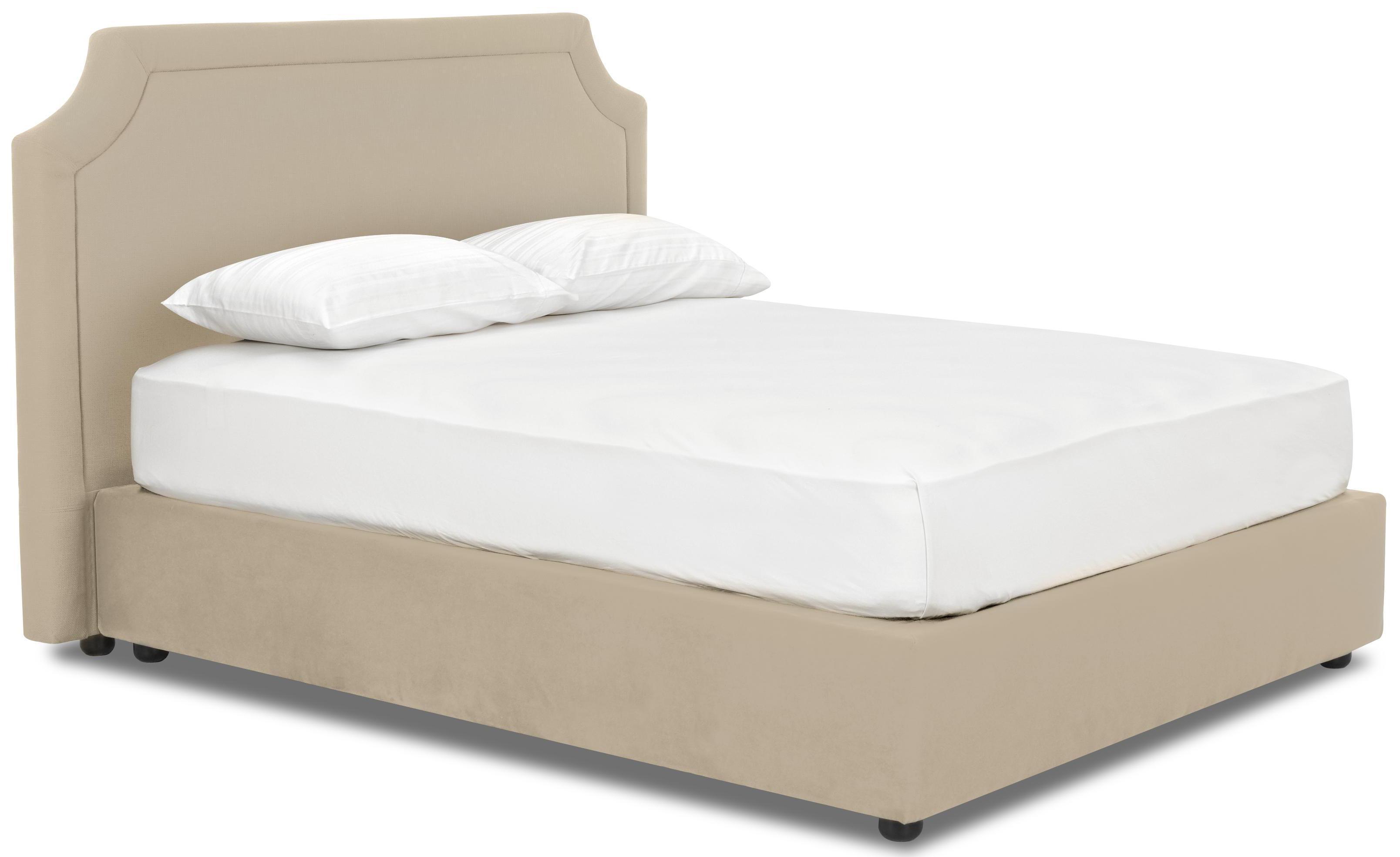 Queen Upholstered Platform Bed By Klaussner