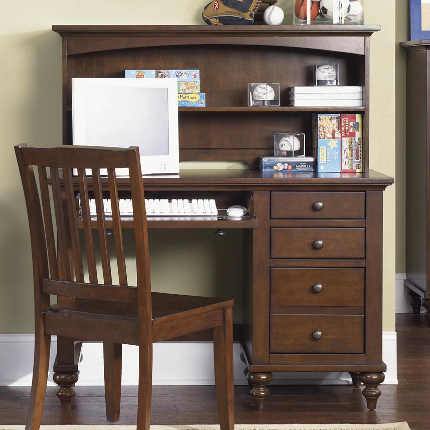 Student Desk with Hutch by Liberty Furniture  Wolf and