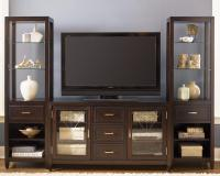 Two Door, Three Drawer Entertainment TV Stand by Liberty ...
