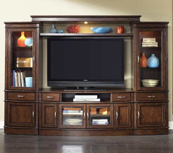 Complete Tv Entertainment Center Liberty Furniture Wolf