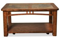 Coffee Table w/ Casters by Riverside Furniture | Wolf and ...