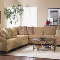 Sofa Store Towson Md Natural Linen Sectional With Low Rolled Arms By Sam Moore | Wolf ...