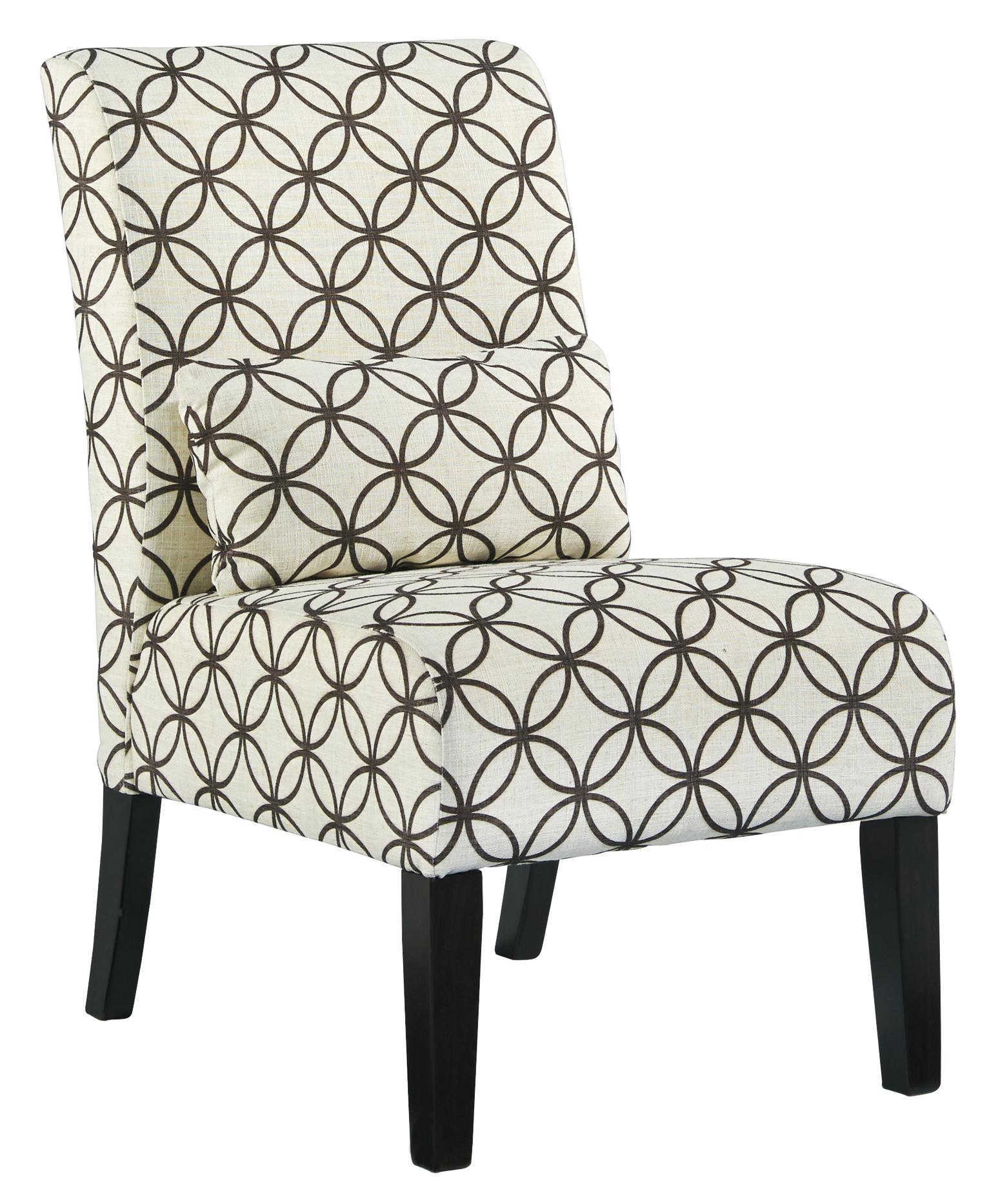 transitional accent chairs chair design classroom armless with pillow by signature