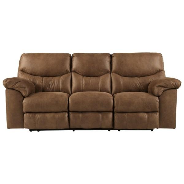 Casual Reclining Sofa Signature Design Ashley Wolf