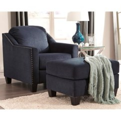 Chairs With Ottomans For Living Room Vintage Steelcase Shop Chair Ottoman Sets Wolf And Gardiner Furniture Nailhead Studded Set