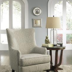 Tufted Nailhead Chair Picnic Time Reclining Camp Transtional Accent With Wing Back By Signature Design Ashley | Wolf And Gardiner ...