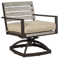 Outdoor Swivel Chair w/ Cushion by Signature Design by