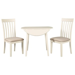 kitchen table and chairs with wheels patio swivel chair shop sets wolf gardiner furniture set for two drop leaf