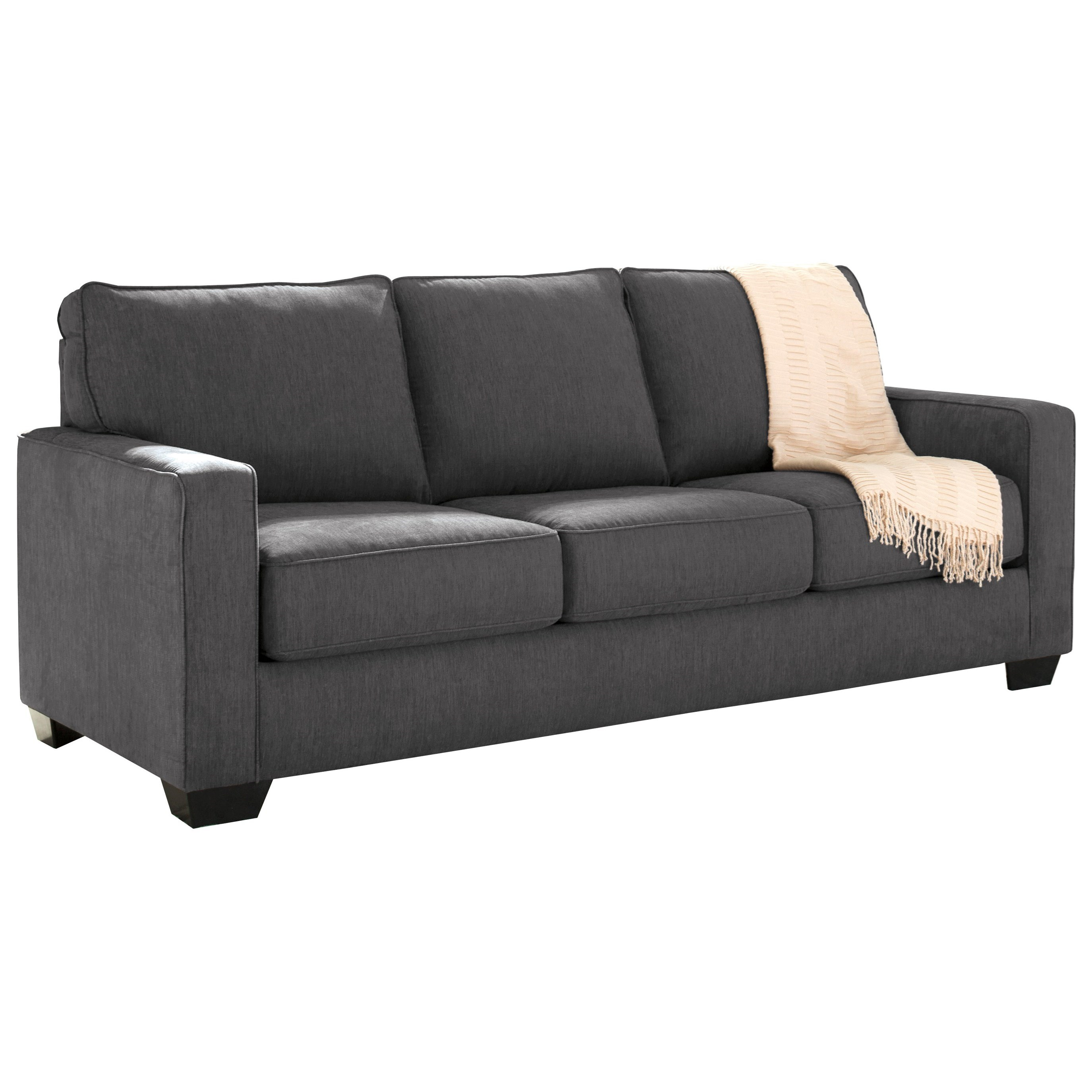 queen sleeper sofa memory foam mattress cost plus table with by signature design