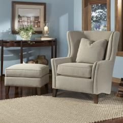 Chair And Ottoman Covers Amazon Kitchen Ireland Wingback By Smith Brothers | Wolf Gardiner Furniture