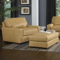 Contemporary Chair and a Half and Ottoman Set by Smith ...