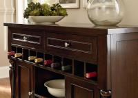Buffet with 10 Bottle Wine Rack by Standard Furniture ...
