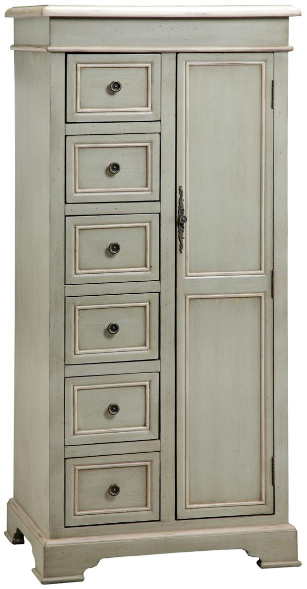 Tall Storage Cabinet w/ 6 Drawers by Stein World