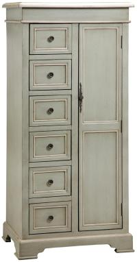 Tall Storage Cabinet w/ 6 Drawers by Stein World | Wolf ...