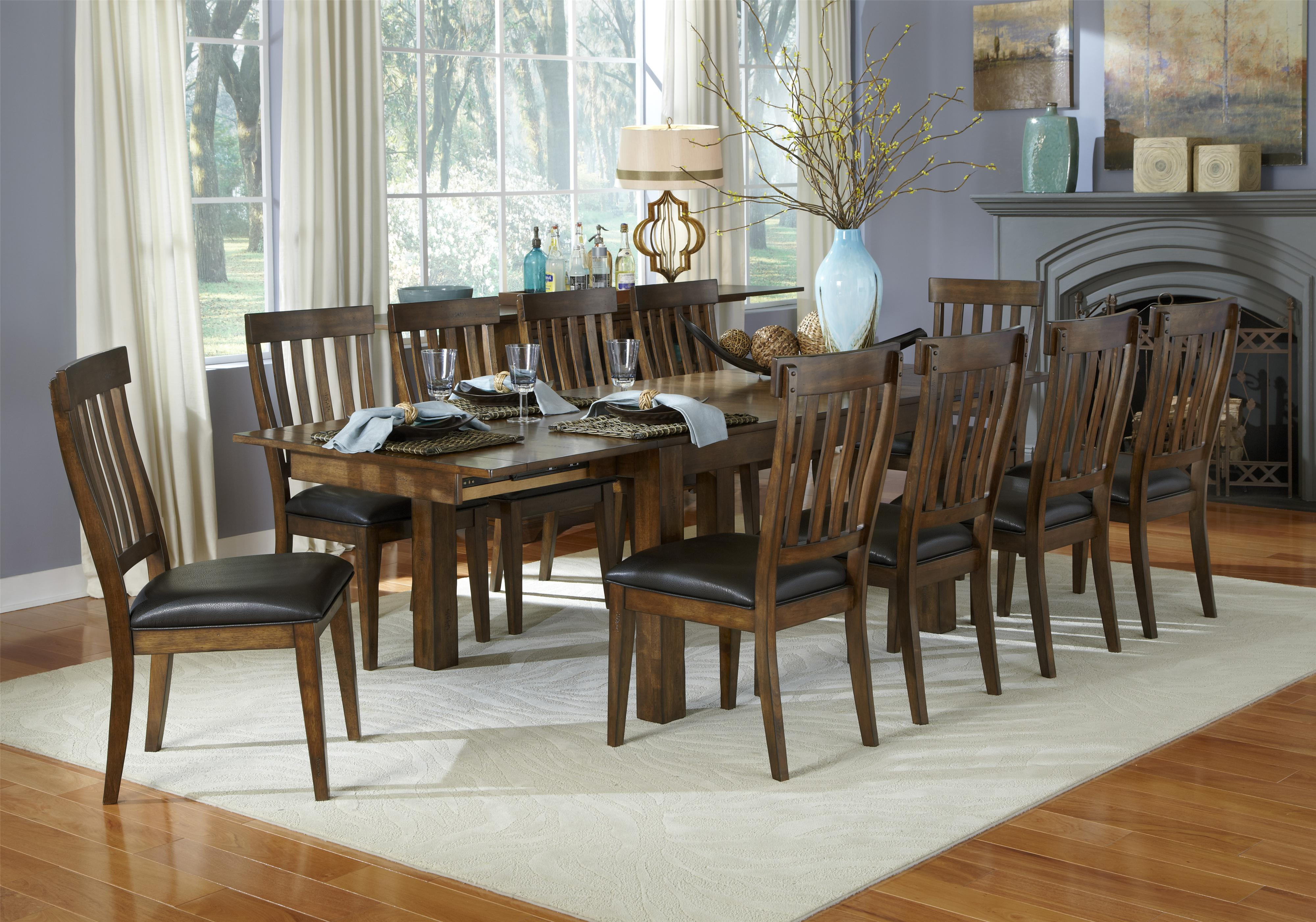 breakfast table and chairs set chair covers dunnes stores 11 piece dining slatback by aamerica