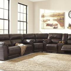 Sectional Recliner Sofas Black N Grey Corner Sofa 3 Piece Reclining By Benchcraft Wolf And