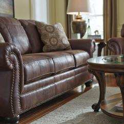 Rolled Arm Sofa With Nailhead Trim 5 In 1 Bed Low Price Faux Leather Queen Sleeper Arms And